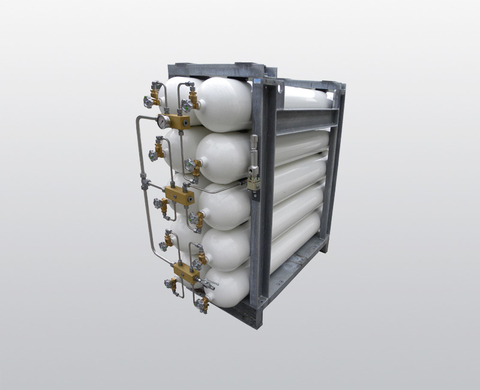 B800 – 330 bar high-pressure storage system