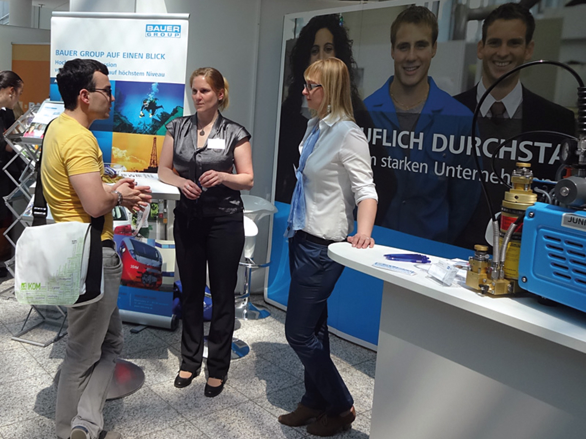 BAUER GROUP at IKOM 2014, Munich