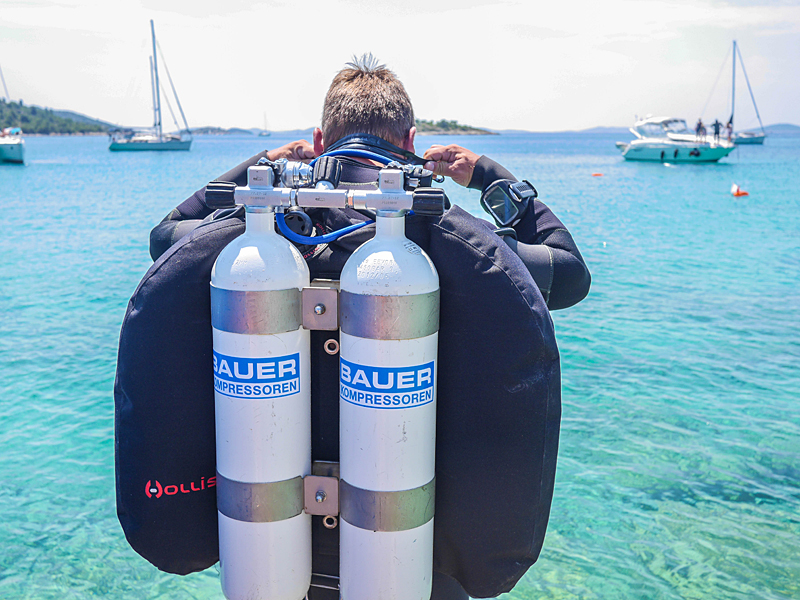 Munich school goes diving in Croatia – with air by BAUER